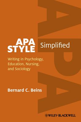 APA Style Simplified By Beins, Barney
